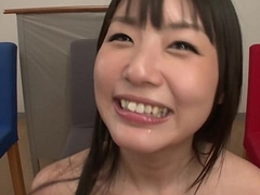 Subtitled Japanese Tsubomi blowjob party leads to bukkake