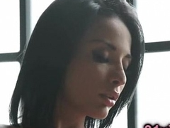 Cute french babe Anissa Kate solo