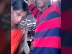 Desi Aunty Biwi groped overwrought local man