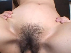 Fucking the Oriental milf who gets to be creampied