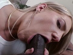 White Indulge likes Black Cock in Her Ass