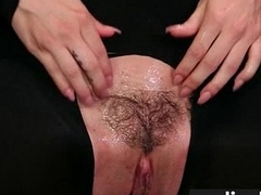 girl gushes hairy muff juice Twenty