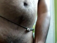 Akki jerking Wearing female parent panty 3
