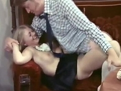 Lucky gay blade fucked by super-hot blonde maid Anna Magle in output porn