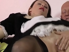 Heeled skank creampied