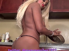 Gigantic Tits Ebony Teen Petite body Washes Dishes Naked Buy Full Video Erratically