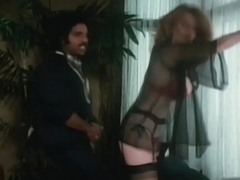 Young Ron Jeremy fucking a obese tits mummy between her tits