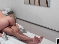 Asian Masseuse Rides and Deep-throats Dick