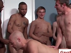 Bukkake Boys - Gay Hardcore Sex from www.GayzFacial.com 16