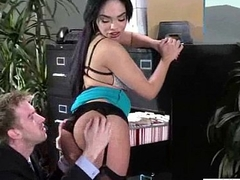 Sex On Livecam With Big Melon Tits Sluty Office Girl (selena santana) vid-27