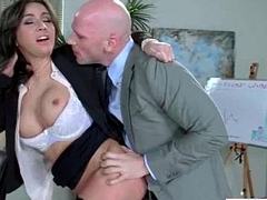 Sex On Web camera With Big Melon Tits Sluty Office Girl (stephani moretti) vid-29