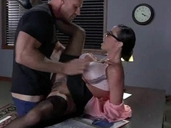 Busty Babe Fucking Their way Boss Adjacent to A catch Date 4