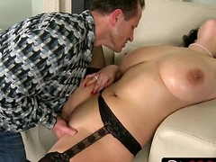 Lucky Guy Take control of Titanic Natural Tits - Shione Cooper
