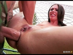 Casey Calvert takes a difficulty water dick she's ever had on every side a difficulty ass