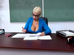 Big Tits to hand Instructor - Teachers Tits Are Distracting scene starring Bridgette B  Alex D