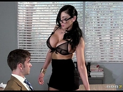 Horny college prof Audrey Bitoni steals their way student from his Girlfriend