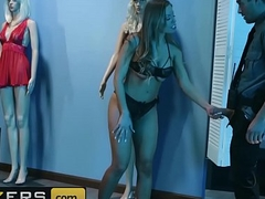 (Britney Amber, Xander Corvus) - Burnish apply Mannequin the Security Guard - Brazzers