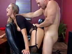 Brazzers - Broad in the beam Tits at Work - (Nicole Aniston), (Johnny Sins) - Union Nutbuster