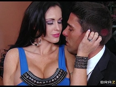 Slutty Mummy Jenna Presley is fucked hard infront of her husband
