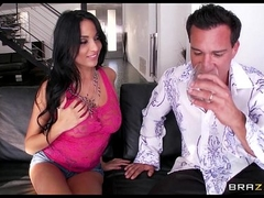 Busty Latina Anissa Kate seduces plus fucks their way best friend's join in matrimony