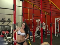 Brazzers - Gym Foursome and anal workout