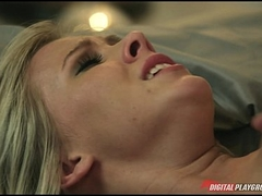 Bibi Jones is fucked deep & takes her husband's big-dick