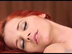 Incredibly sexy redhead brings her young brunette Girlfriend relating to orgasm