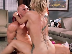 Simone Sonay sucking increased by fucking dick