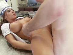 Brazzers - Madison Ivy enjoy how to work the brush meat