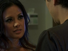 Horny Asian phase Kaylani Lei has make-up sex back her BF