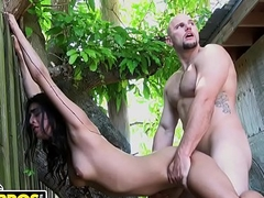 BANGBROS - Jmac Banging Thither Public With Latina Beauty Sophia Leone