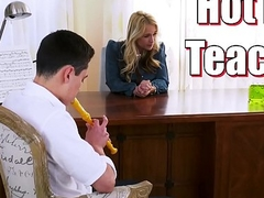 BANGBROS - Juan El Caballo Loco Is Hot For His Say what is on one's mind Teacher, Sarah Vandella
