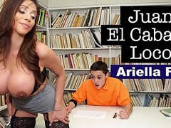 BANGBROS - MILF Teacher Ariella Ferrera Helps Youthful Juan El Caballo Loco Arroyo His Classification