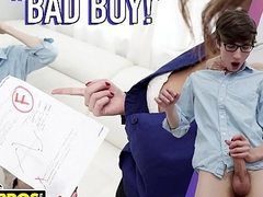 BANGBROS - Jesse, Bad Boy, Stepmom Helena Direct blame Is Gonna Punish You
