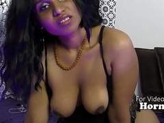 Hot Indian girl humiliating sissy boys JOI POV take Hindi