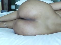 DESI Chesty BOOTY SPREADING HER Frontier fingers SHOW Asshole FOR ANAL Carnal knowledge