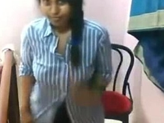 Desi angel stripping