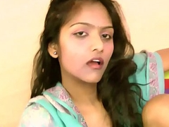 Dark Skin Indian College Battle-axe Divya