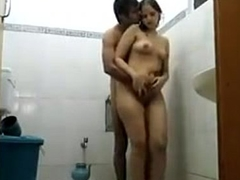 Taking bath give neighbour horny aunty