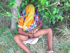 Indian Hot bhabhi enjoyed with her devar in Outdoor Townsperson Outdoor