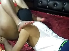 Indian housewife make relationship with her nephew accouterment 1