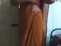 desi  indian horny tamil telugu kannada malayalam hindi cheating wife wearing saree vanitha showing big boobs and shaved pussy campaign hard boobs campaign nip rubbing pussy pervert
