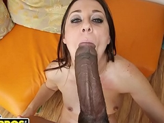 BANGBROS - Jack Napier Obliterates Brooklyn Jade's Covetous Pussy With His Big Huge black dick