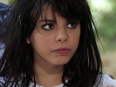 Wild Teen Unfamiliar The Woods - Gina Valentina