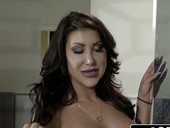 Sexually excited Asian Wife August Taylor Blows Her Husband'_s Best Friend