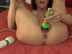 Hot Mummy Catherine Pleasing Her Pussy