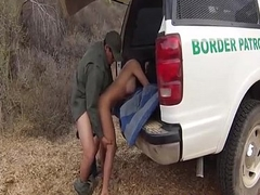 Interesting Mexican Teeny Rough Fucked By BorderGaurd