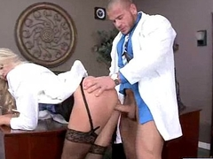 (audrey show) Hot Patient Get Seduce And Hard Style Screwed By Doctor mov-05