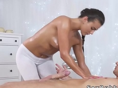 Real ass masseuse sucks huge locate