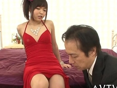 Fantastic plus wild oriental oral-sex